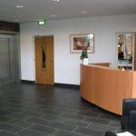 Ontvangstruimte Bedrijfsverzamelgebouw Capitool 50 in Enschede